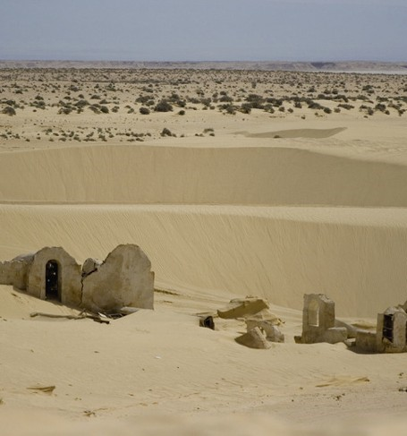 Desert encroachment in the Sahel