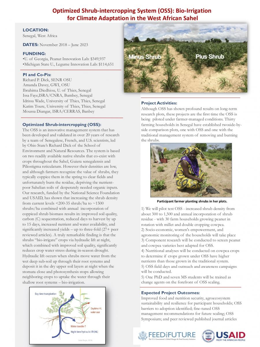 USAID Feed the Future Projects' Fact Sheet